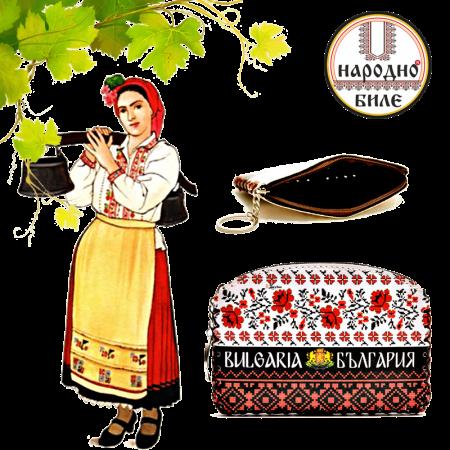 Портмоне с българска шевица