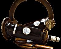 Двойна поставка за бутилки вино + подарък 2 х 750 мл вино